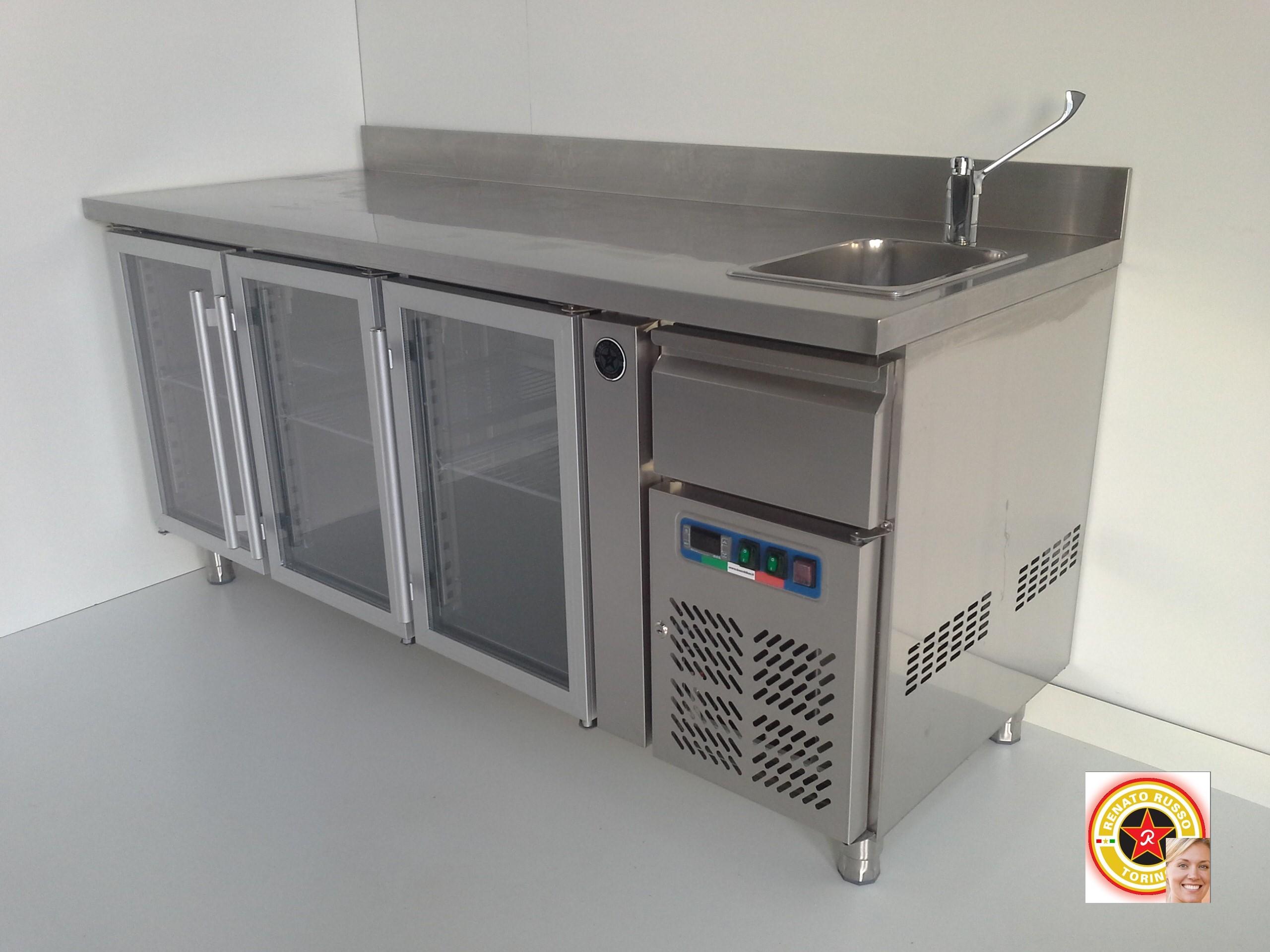 Cassetti battifiltro banchi bar top in acciaio inox banchi frigo acciaisti torino tramoggia - Tavoli acciaio inox prezzi ...